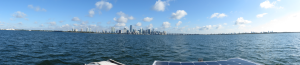 Miami from Biscayne Bay